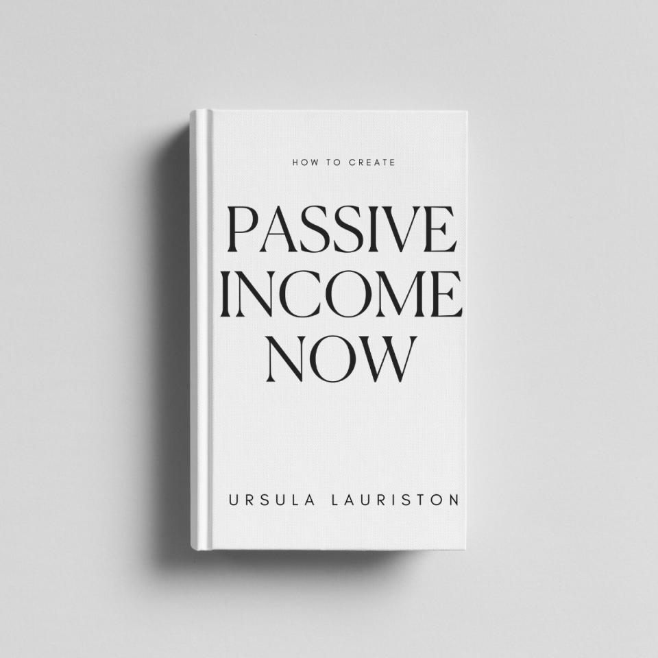 how to create passive income now