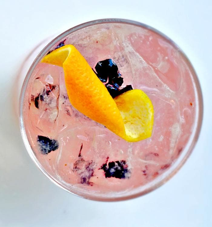 Blueberry-Cachaca-Smash-ambar-clarendon-summer-drink-specials