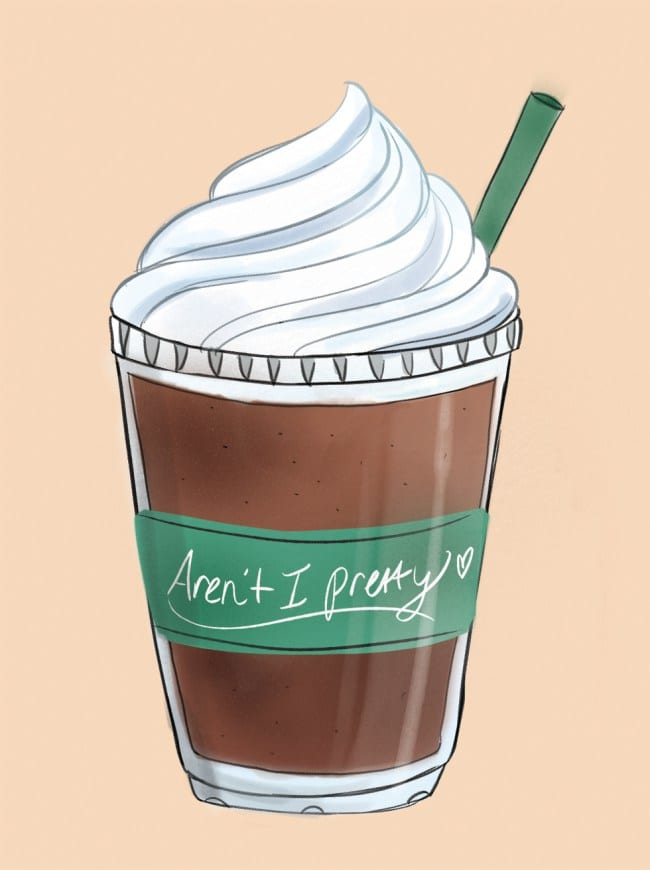 frappucino-order-says-about-you-sydney-adams-illustration-capitol-standard-magazine