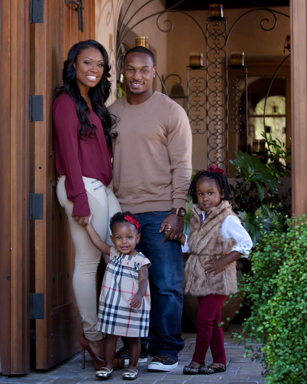 Sproles-family-daughter-family-wife-husband-football-