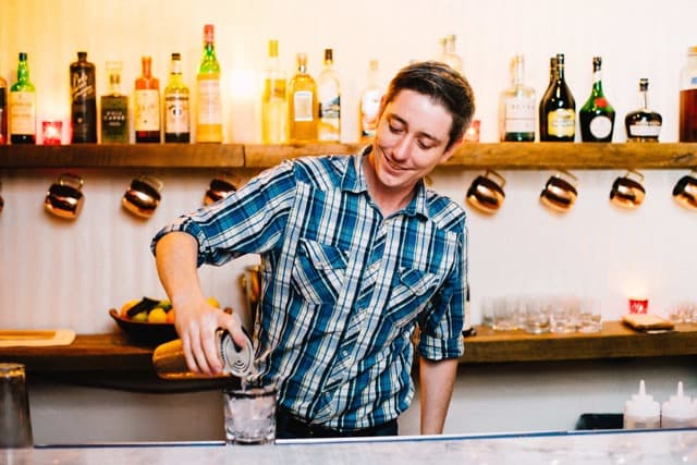 The Speak head bartender Jeff Cole