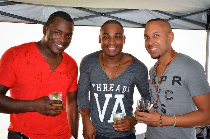 black-males-attractive-block-party-under-tent