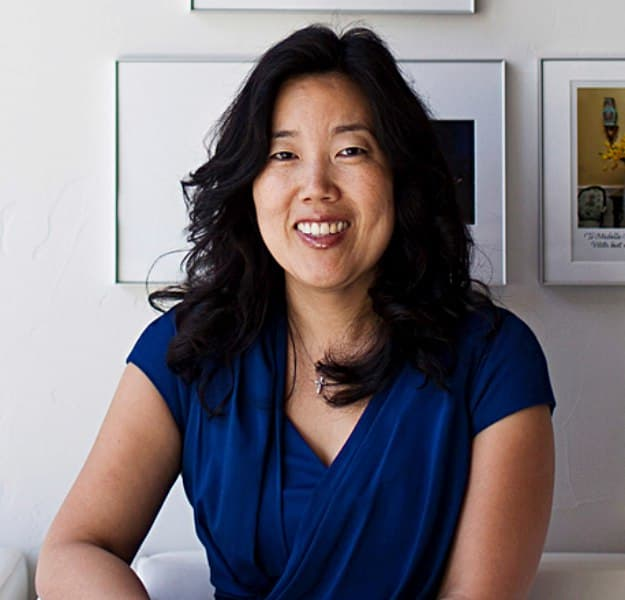 Michelle Rhee, founder and CEO of StudentsFirst, poses for a portrait at her office i